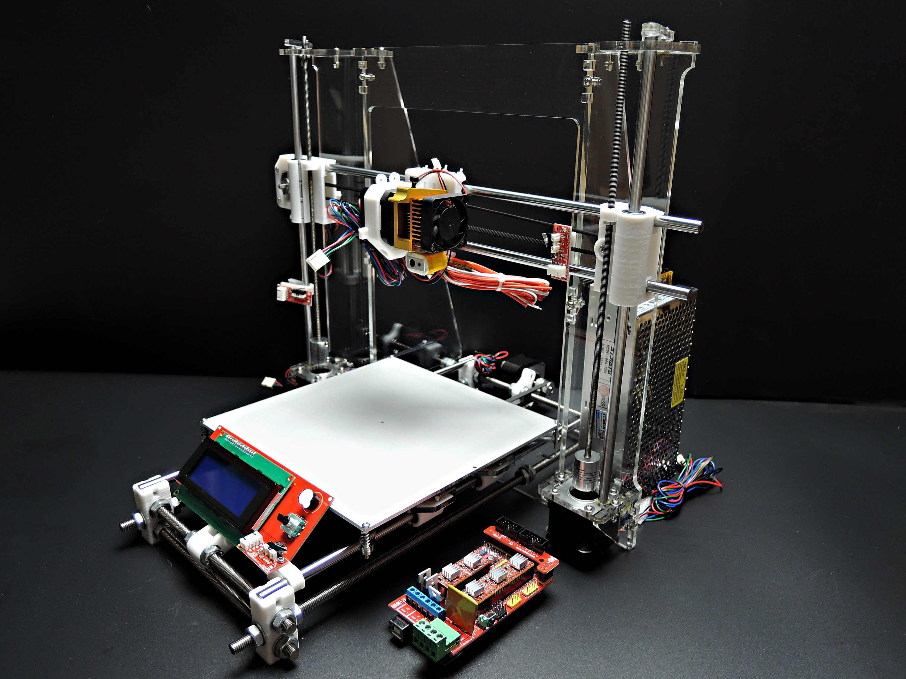 Sintron Reprap Prusa I3 3D-Printer – review and first