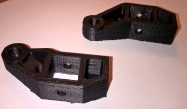 Y-axis left and right mounts