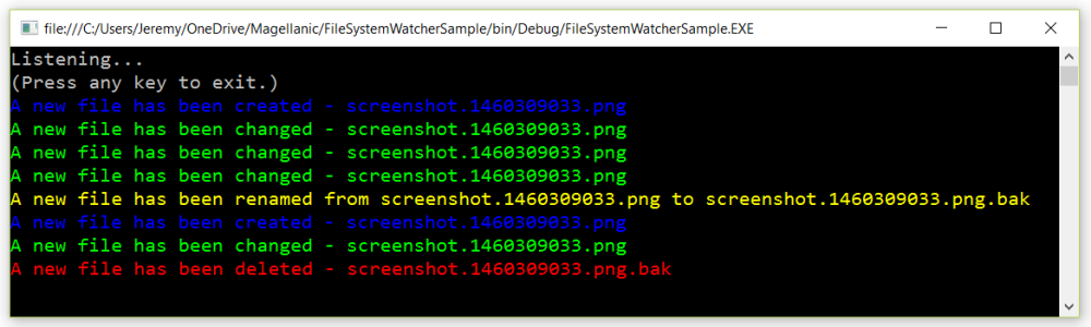 File System Watcher