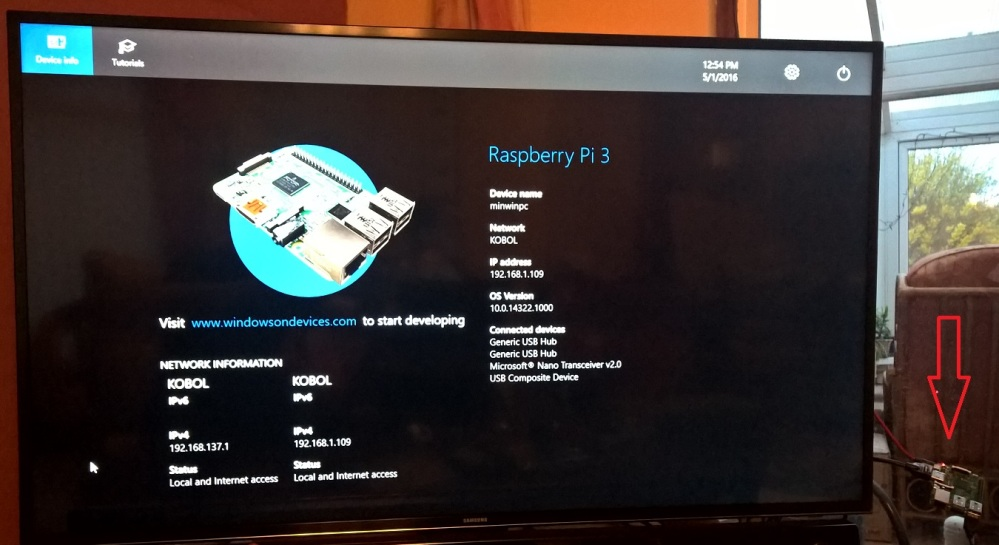 Windows 10 IoT and the Raspberry Pi 3 – installation, failure, and