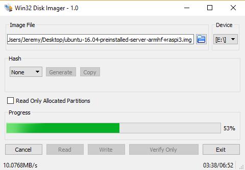 Installing Ubuntu 16 04 on a Raspberry Pi 3, installing  NET Core 2