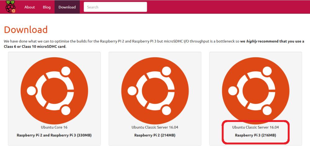 Installing Ubuntu 16 04 on a Raspberry Pi 3, installing  NET